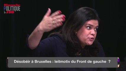 """Comme Mélenchon, Garrido appelle à la """"désobéissance des traités"""""""