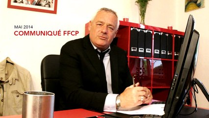 Communiqué FFCP - Marc Mercier - Mai 2014
