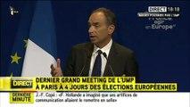 Copé confond élections européennes et présidentielles