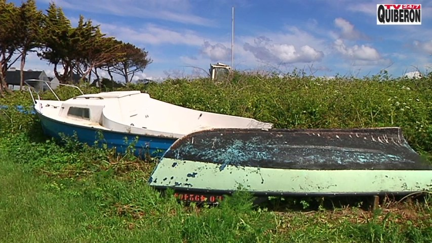 Ile de Groix: Le Port de Locmaria et ses épaves - TV Ile de Groix