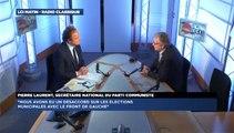 Pierre Laurent, invité de Guillaume Durand avec LCI