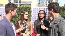 Emily Piriz and Malaya Watson on The American Idol Finale Red Carpet