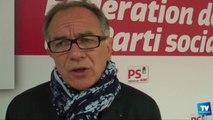 Éric Andrieu, candidat socialiste pour le Grand Sud-Ouest aux élections européennes du 25 mai 2014 :