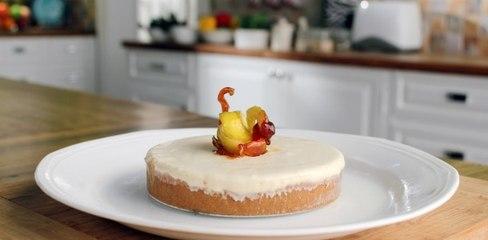 Lemon Cheese Cake    Budget Kitchen