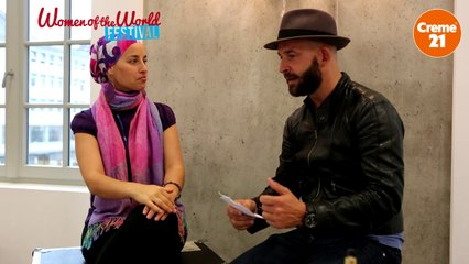 Backstage Interview Kaye Ree by WOTW Festival & Creme21