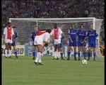 22 maggio 1996 Juventus-Ajax 1-1 ACCADDE OGGI. 22 MAGGIO 1996, LA JUVENTUS VINCE LA CHAMPIONS LEAGUE CONTRO L'AJAX. RIVIVIAMO INSIEME LA NOTTE MAGICA DI ROMA