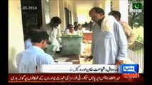 Bye Election in PP-136 Narowal today- Muhammad Wakeel Khan Munj (PTI) vs Col (R) Shujat Ahmed Khan PML-N