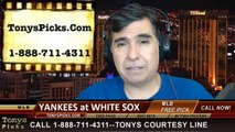 Chicago White Sox vs. New York Yankees Pick Prediction MLB Betting Lines Odds Preview 5-22-2014