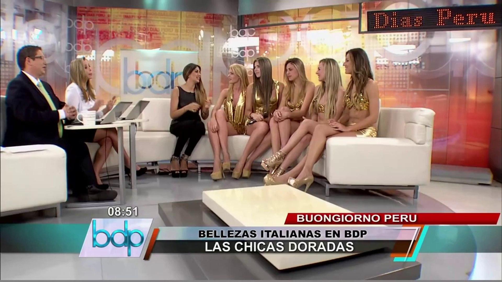 'Chicas Doradas' le declaran la guerra a modelos peruanas: No tienen elegancia (2/3)