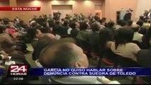 Alan García felicita al Congreso por elección de miembros del TC