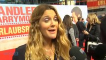 "Drew Barrymore Feels ""Awkward"" Doing Romantic Scenes With Pal Adam Sandler, Says Adam Sandler!"