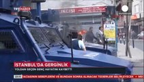 Bystander dies after being shot during protests in Turkey