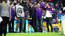 Les Arbitres en finale de la Coupe de la Ligue 2014 / Groupe La Poste -  Tous arbitres