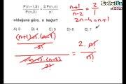 Permütasyon çözümlü sorular 10. sınıf matematik ekol hoca örnek sorular