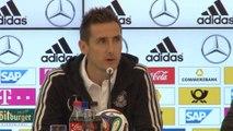 """Klose: """"Il record di gol al mondiale? Certo che ci penso"""""""