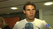 Rafael Nadal's short interview for RTVE at Roland Garros, May 23, 2014