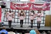 Sakura Matsuri NYC 04-27-2014: Hitomi Himekawa (姬川 ひとみ) & Rainbow Bubble - Invader Invader