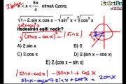 Trigonometri soru çözümleri videosu ekol hoca 10. sınıf matematik