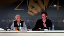 "Quentin Tarantino : ""La Palme d'or à Michael Moore"""