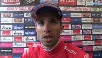 Nacer Bouhanni, maillot rouge de la 13e étape du Tour d'Italie - Giro d'Italia 2014