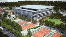 Le nouveau Stade Roland-Garros