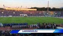23.5.14- Il pregara dell'amichevole Levski Sofia-Lazio dallo stadio 'Vasil Levski'