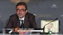 Conférence de presse - Palme d'Or - Winter Sleep