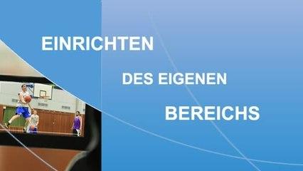 NRWsportTV - Eigenen Bereich einrichten