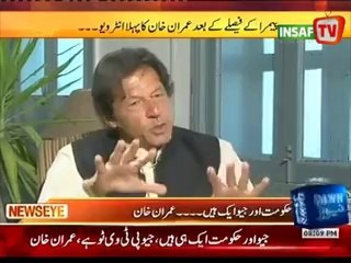 I also Not Want To Banned on Geo news :-Imran Khan