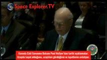 Tarihi açıklamalar: Kanada Savunma Bakanı UZAYLILARI anlatıyor | Paull Hellyer - Tünelin Sonundaki Işık