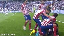 Diego Godin Goal ~ Real Madrid vs Atletico Madrid 0-1