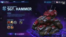 [Alc116] Découverte Heroes - Une Game avec Sgt.Hammer  (Heroes of the Storm Alpha Maj 22/05 - FR)