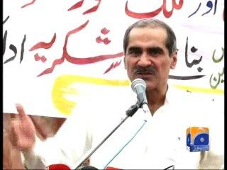 Imran Khan needs political training: Saad Rafique