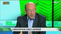 Innovation chez Lafarge: Gérard Kuperfarb, Olivier Duverdier et Patricia Laurent, dans Green Business – 25/05 4/5