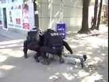NATO SBU death squads capture a civilian for not beeing nazi