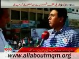 Dr Khalid Maqbool Siddiqui on MQM Rally to express solidarity with Mr Altaf Hussain