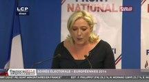 """Marine Le Pen : """"le peuple souverain a parlé haut et clair"""""""