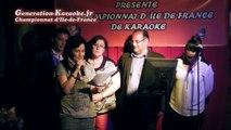 Remise des prix  - Soirée de sélections du championnat d'île-de-France 2014 de karaoké au Palais d'été (Ris Orangis, 93) - Remise des prix