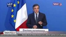 """François Fillon : """"François Hollande et sa politique sont les premiers responsables de la colère qui monte dans le pays"""""""