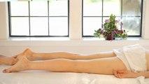 ASMR Leg & Feet Massage; Swedish Massage Therapy Techniques For Back Rubs; Full Body Massage Part 6