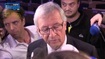 """Jean-Claude Juncker : """"Qu'on n'examine pas le résultat final comme s'il n'y avait que le résultat français"""""""