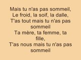 Stromae - Sommeil (Paroles / Lyrics)