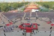 Dunya news-Modi's oath-taking ceremony: 6,000 men, air defence to secure Rashtrapati Bhavan
