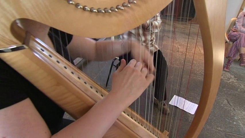 Port-Louis: Harpe Celtique, Biniou - Lorient TV