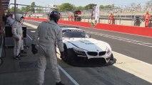 Alex Zanardi Race Documentation Blancpain Sprint Series Brands Hatch 2014 - Qualifying Race