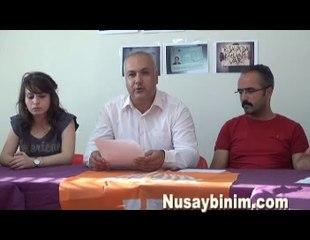 Nusaybin KESK  ve Genel iş Gündeme ilişkin basın açıklması yaptı
