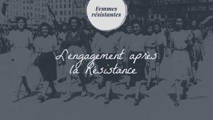 L'engagement après la Résistance
