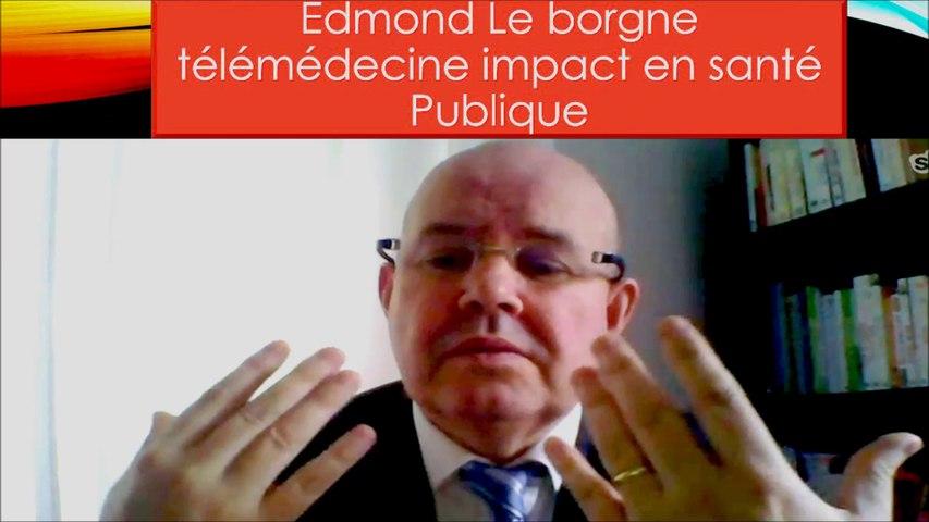 Le Borgne Edmond télémédecine impact en santé Publique