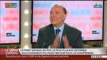 Pierre Moscovici, ancien ministre de l'Économie et des Finances, dans Le Grand Journal - 26/05 1/4