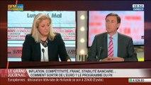 Bernard Monot, économiste du Front national, dans Le Grand Journal - 26/05 4/4